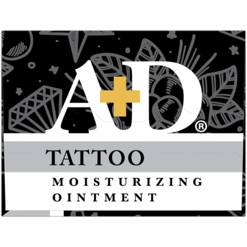 A&D Tattoo Moisturizing Ointment Perspective: top