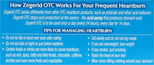 Zegerid OTC® Acid Reducer Capsules Perspective: top