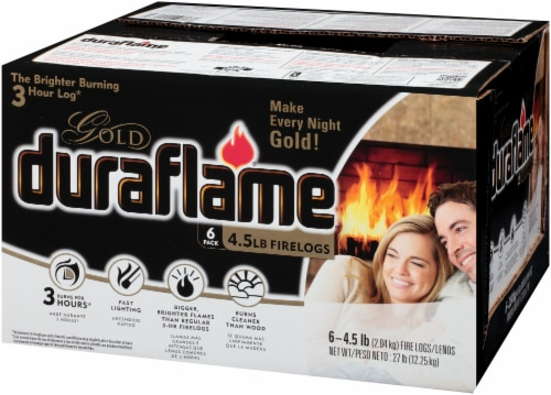 Duraflame Gold Firelogs - 6 Pack Perspective: top