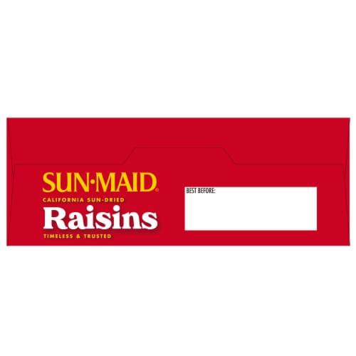 Sun-Maid Natural California Raisins Perspective: top