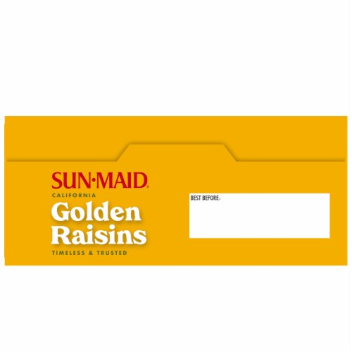 Sun-Maid California Golden Raisins Perspective: top