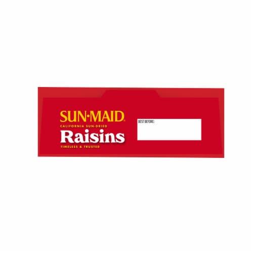 Sun-Maid California Sun-Dried Raisins Perspective: top
