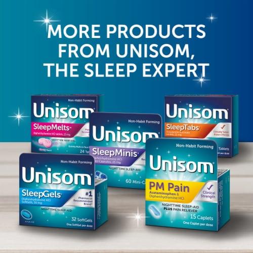 Unisom SleepGels Nighttime Sleep-Aid 32 Count Perspective: top