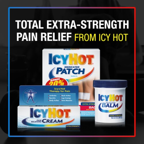 Icy Hot Extra Strength Pain Relieving Cream Perspective: top