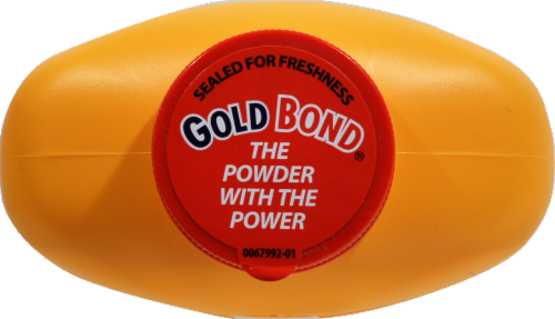 Gold Bond Medicated Original Strength Body Powder Perspective: top