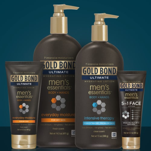 Gold Bond Ultimate Men's Essentials Lotion Perspective: top