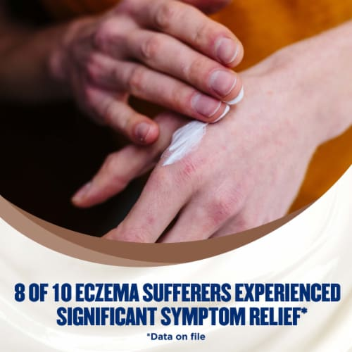 Gold Bond Ultimate Eczema Relief Skin Protectant Cream Perspective: top