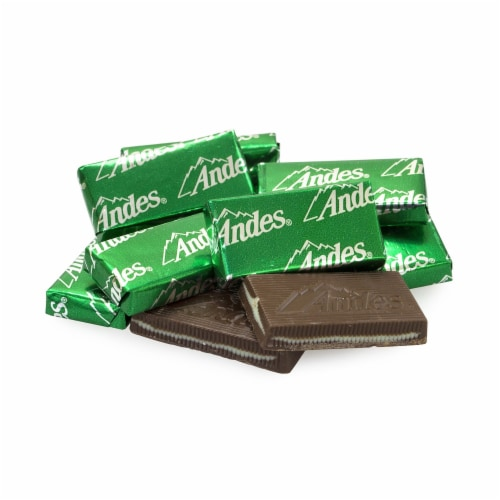 ANDES Creme de Menthe Chocolate Mint Thins Perspective: top