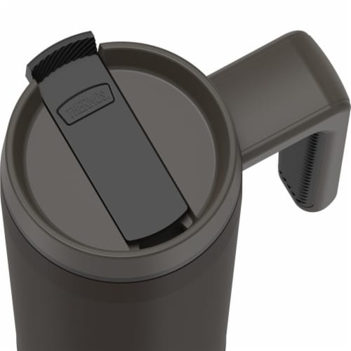 Thermos Stainless Steel Mug - Espresso Black Perspective: top