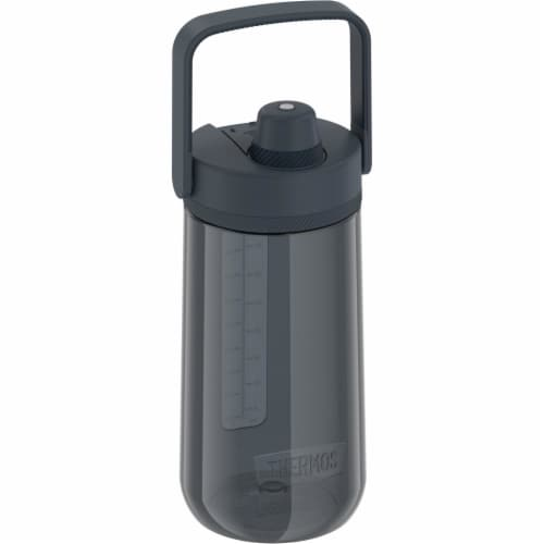Thermos Hard Plastic Hydration Water Bottle wiht Spout - Lake Blue Perspective: top