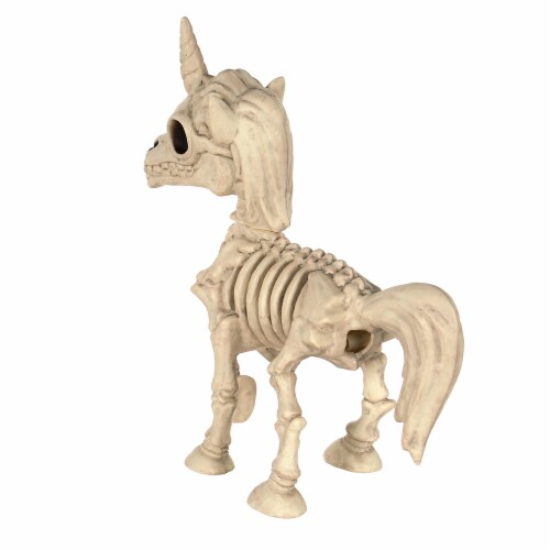 Holiday Home Skeletal Unicorn - Cream Perspective: top