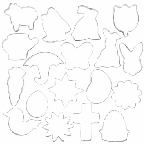 Holiday Home Easter Cookie Cutter Kit Perspective: top
