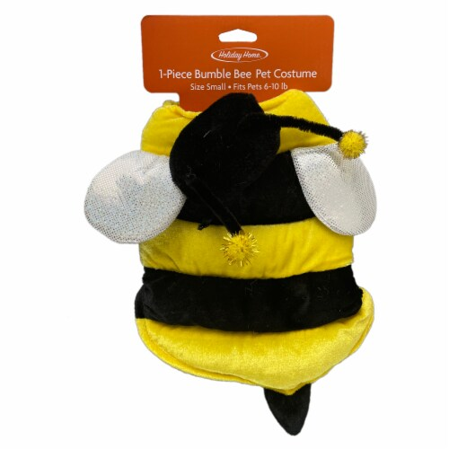 Holiday Home Bumble Bee Small Pet Costume Perspective: top