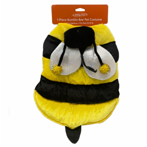 Holiday Home Medium Bumble Bee Pet Costume Perspective: top