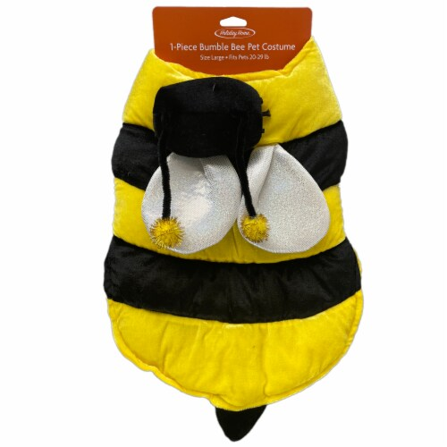 Holiday Home Bumble Bee Large Pet Costume Perspective: top