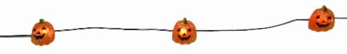 Holiday Home® 20 LED Pumpkin String Lights - Orange Perspective: top