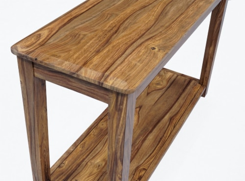 Modavari Home Fashions Auburn Console Table Perspective: top