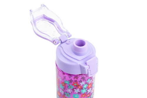 Everyday Living Hydration Bottle - Flower Perspective: top