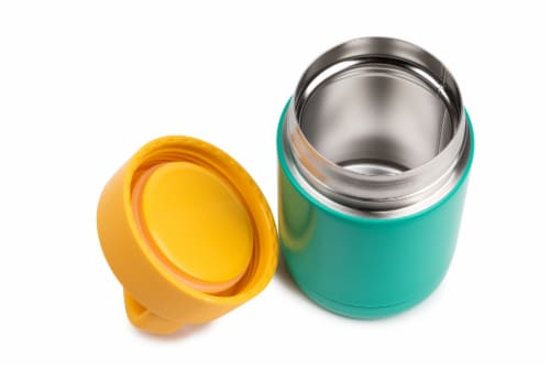 Everyday Living Food Storage Container - Green/Yellow Perspective: top