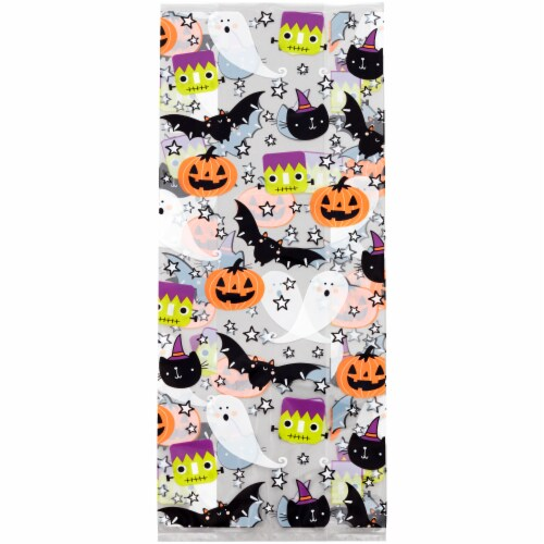 Holiday Home Treat Bags and Ties - 20 Pack Perspective: top