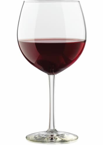 Dash of That Midtown Red Wine Glass Perspective: top