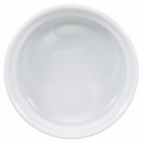 Dash of That Individual Souffle Dish - White Perspective: top