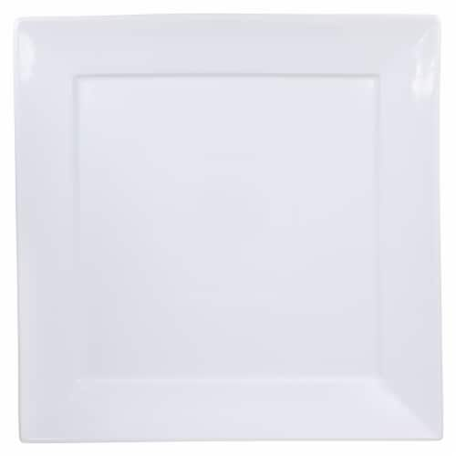 Dash of That™ Fremont Square Plate - White Perspective: top