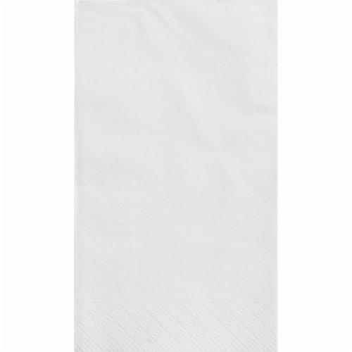 Kroger® Entertainment Essentials White Linen Deluxe Napkins Perspective: top