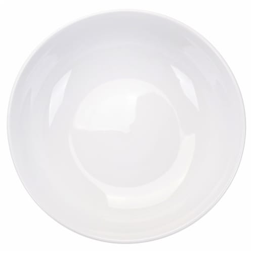 Dash of That Round Serving Bowl - White Perspective: top