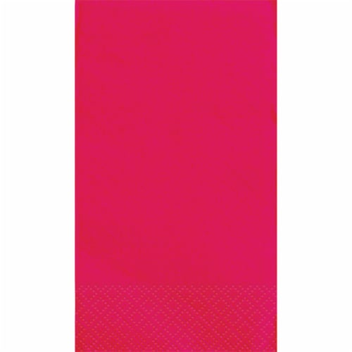 Kroger® Guest Paper Napkins - Lollipop Pink Perspective: top