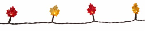 Holiday Home® LED Harvest Maple Lights Perspective: top