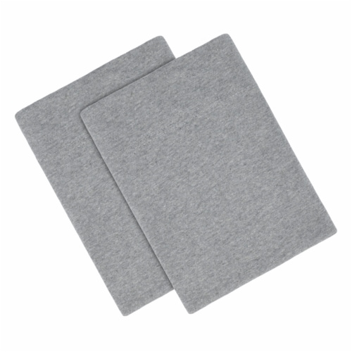 Everyday LivingJersey Pillowcase Set - Heather Gray Perspective: top