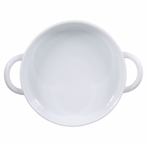 Dash of That Baking Dish with Oversized Handles - White Perspective: top