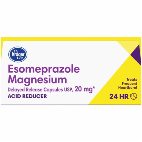 Kroger® Esomeprazole Magnesium Capsules Twin Pack 20mg Perspective: top