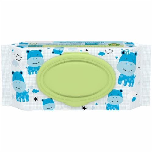 Comforts™ Sensitive Baby Wipes Perspective: top