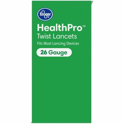 Kroger® HealthPro™ 26 Gauge Twist Lancets Perspective: top