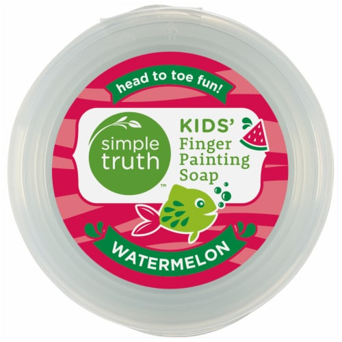 Simple Truth™ Kids' Watermelon Finger Paining Soap Perspective: top