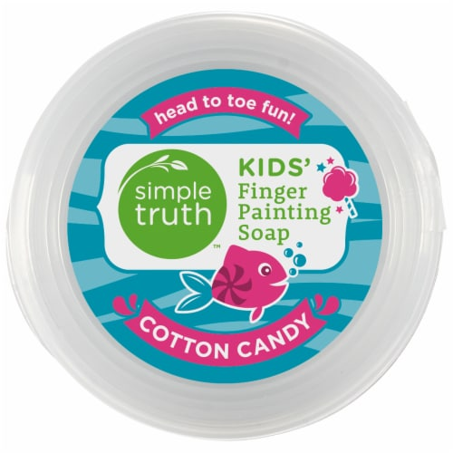 Simple Truth™ Kids Cotton Candy Finger Painting Soap Perspective: top
