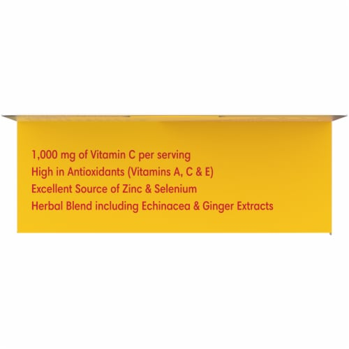 Kroger® Immune Support Berry Flavor Effervescent Tablets Perspective: top