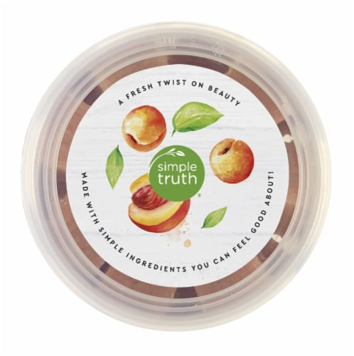 Simple Truth® Peach & Apricot Exfoliating Sugar Cubes Perspective: top