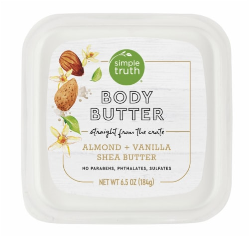 Simple Truth® Almond & Vanilla Shea Butter Body Butter Perspective: top