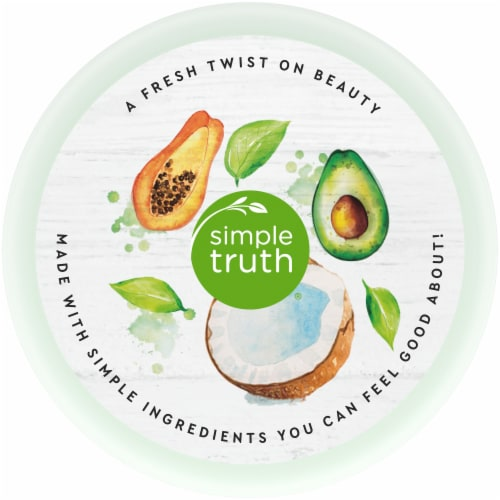 Simple Truth® Beauty Crate Avocado Coconut & Papaya Hydrating Conditioner Perspective: top