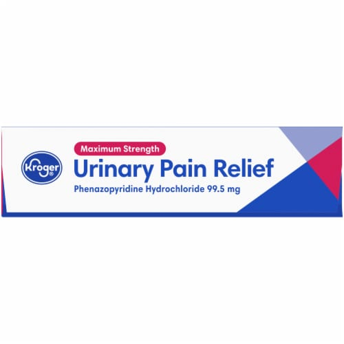 Kroger® Maximum Strength Urinary Pain Relief Tablets Perspective: top