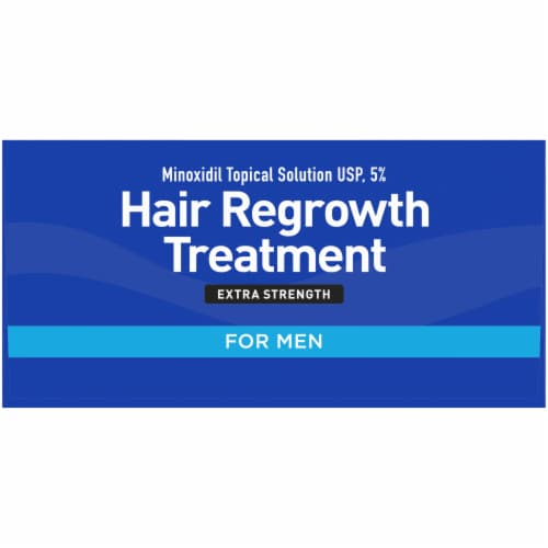 Kroger® Extra Strength Hair Regrowth Treatment for Men Perspective: top
