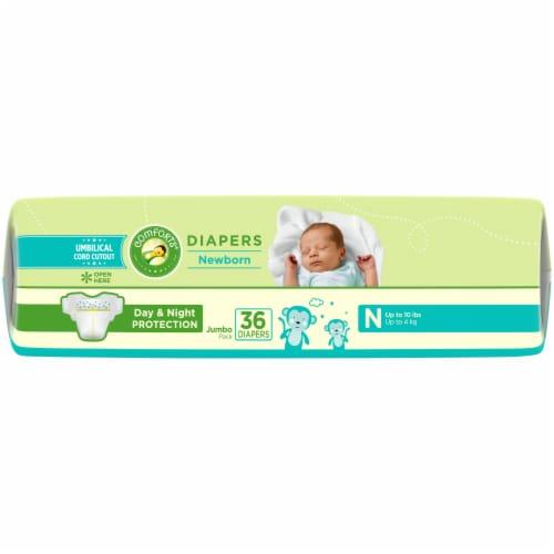 Comforts Newborn Diapers Perspective: top