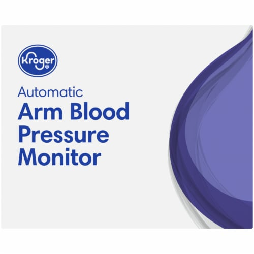 Kroger® Automatic Arm Blood Pressure Monitor Perspective: top