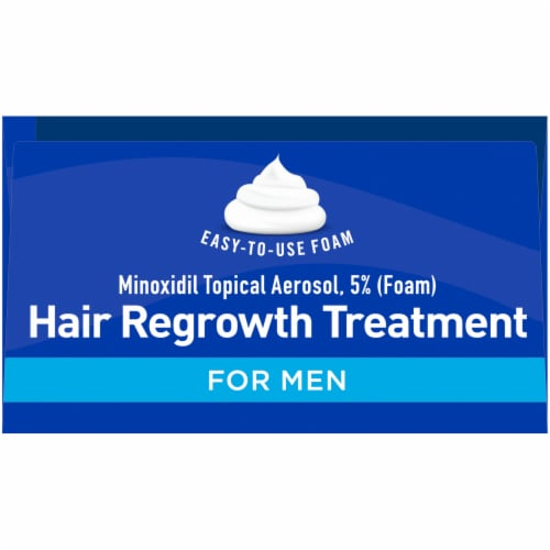 Kroger® Hair Regrowth Treatment for Men Perspective: top