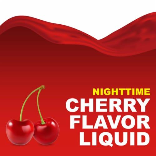 Kroger® Cherry Flavor Nighttime Cold & Flu Relief Liquid Perspective: top