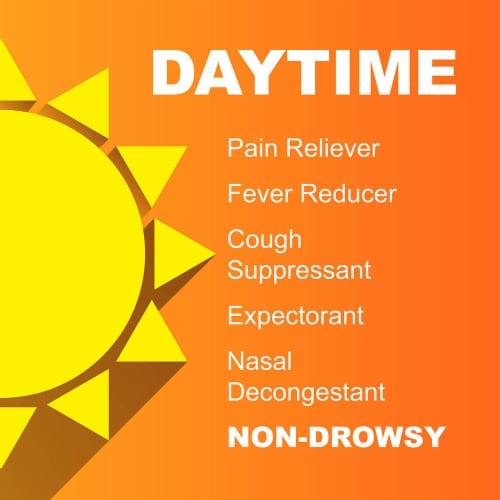 Kroger® Daytime Cold & Flu Relief Liquid Perspective: top