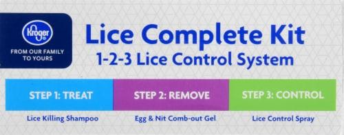 Kroger® Lice Complete Kit Perspective: top